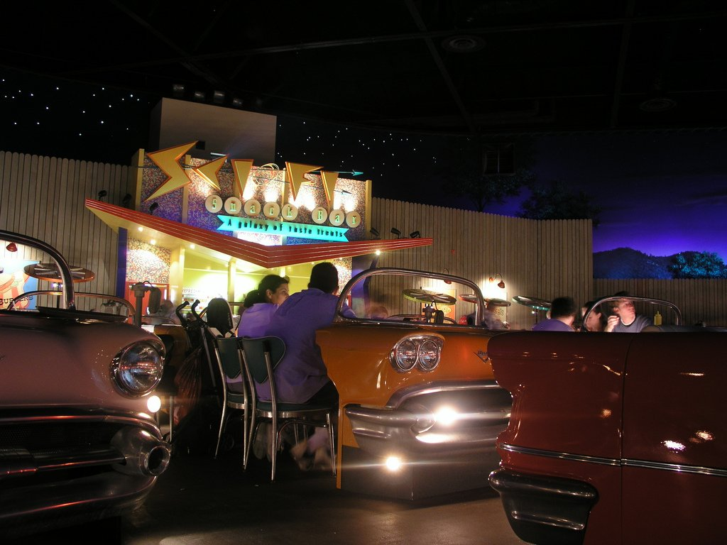 Sci-Fi Dine In is a Great Spot for Dinner
