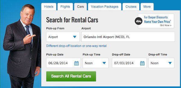 priceline rental car bidding