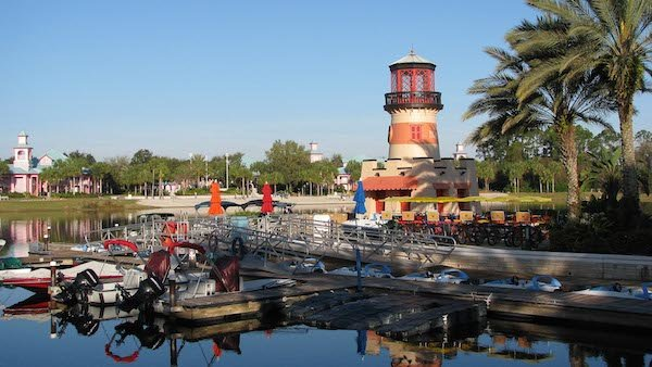 Disney Caribbean Beach, Lighthouse Dock